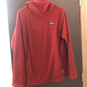 Patagonia hooded pull over